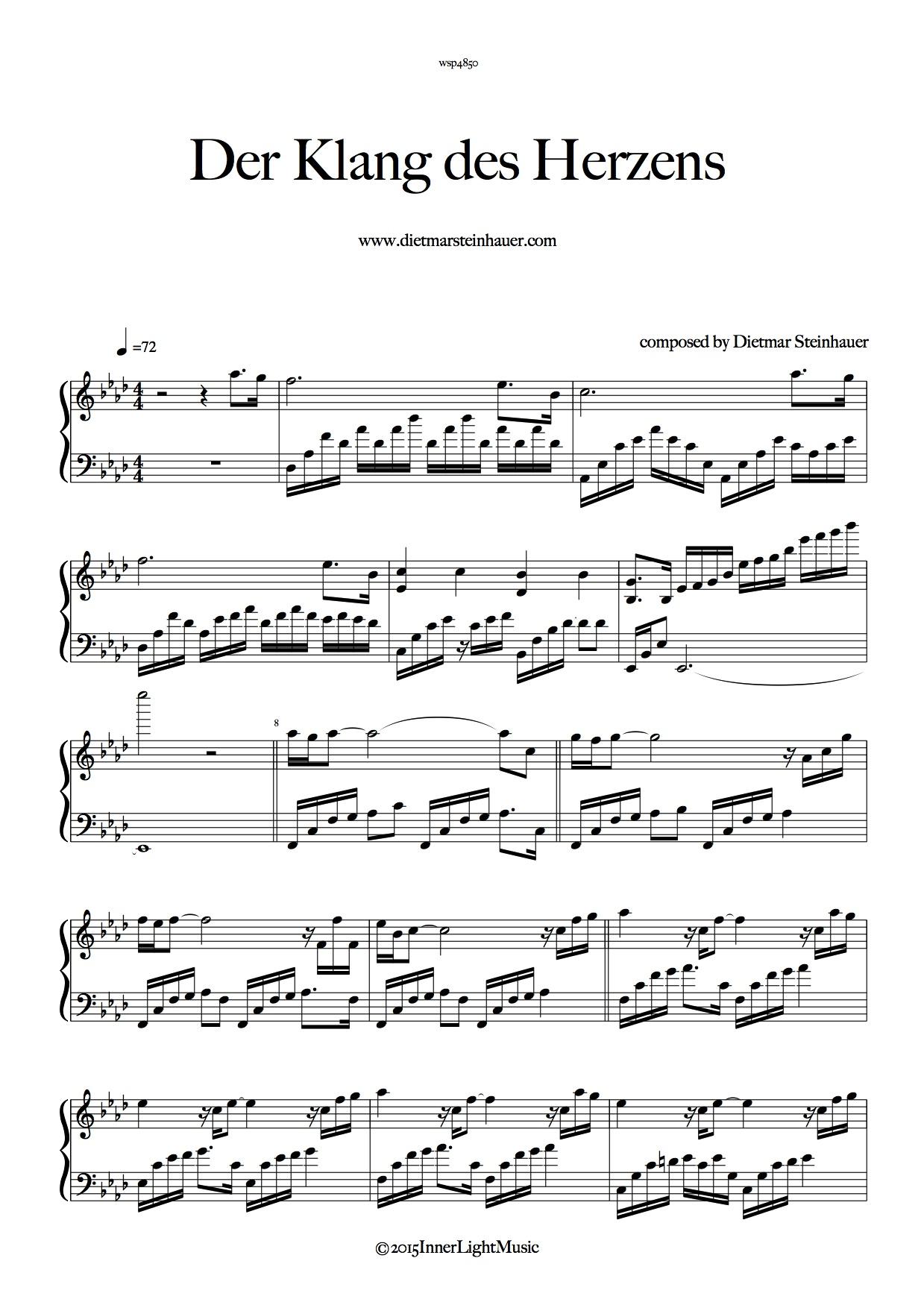 Der Klang des Herzens - The Sound of your Heart - tastenland